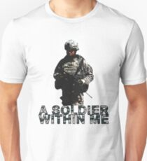 A Soldier Within Me T-Shirt