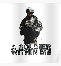 A Soldier Within Me Poster