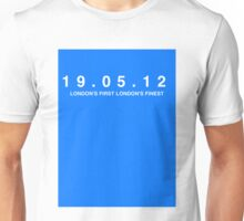 Chelsea FC. London's First London's Finest. 19th May 2012 Unisex T-Shirt