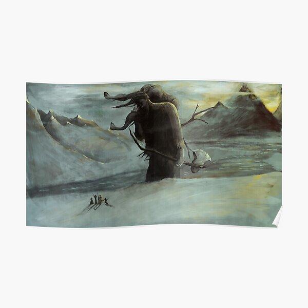 Kveikur - The Ice Giant Walks Poster