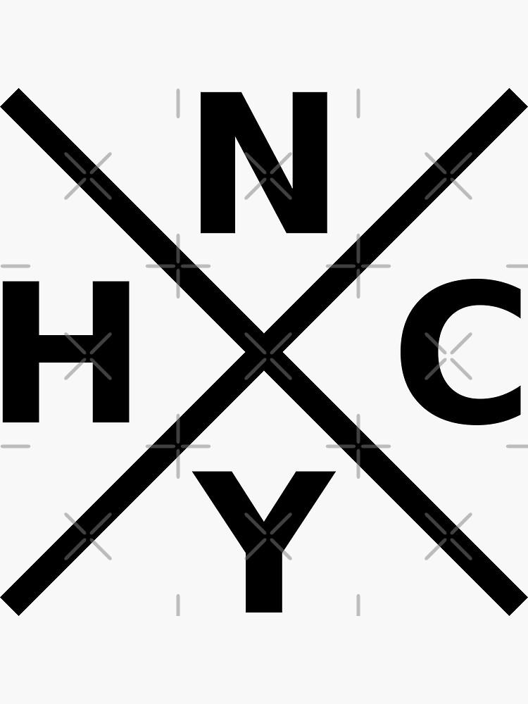NYHC - New York Hardcore Logo Black Font by ramiro