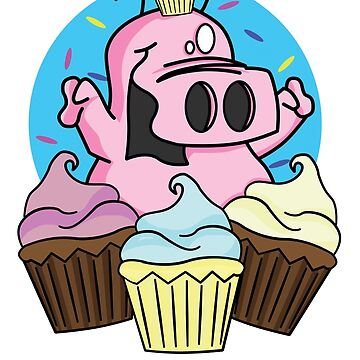 Cupcake Rupert. by purplesmoke17