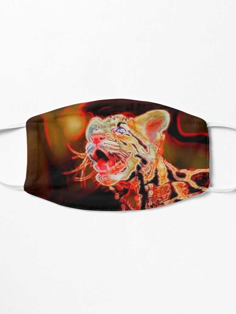 Alternate view of LEO THE LEOPARD PUP Mask