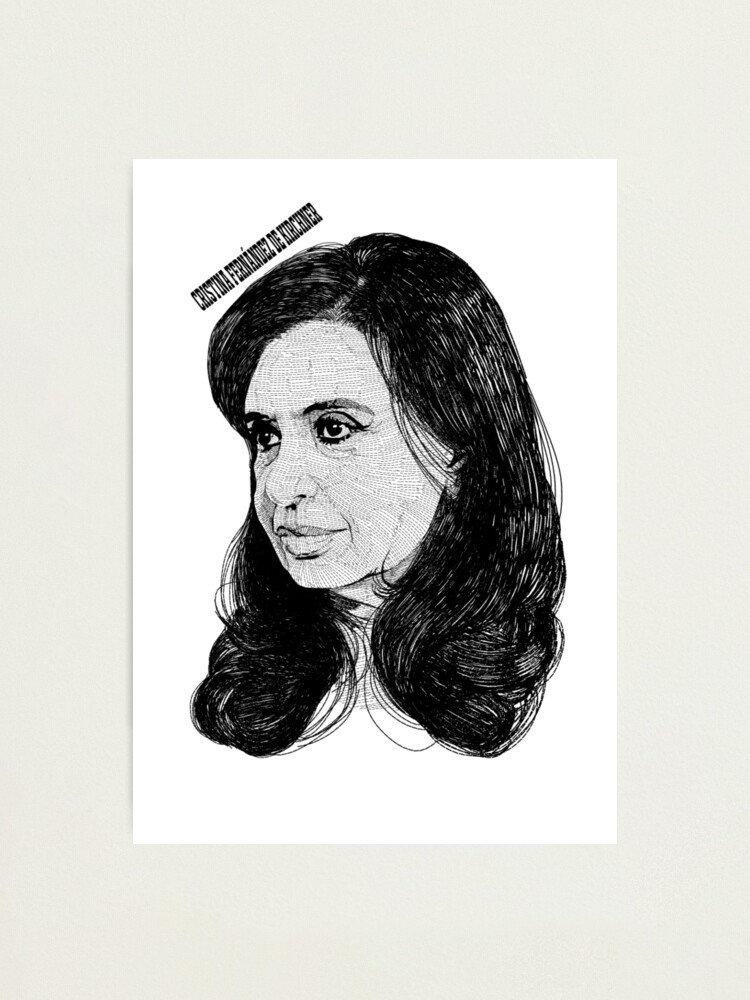 Alternate view of Cristina Fernández de Kirchner Photographic Print