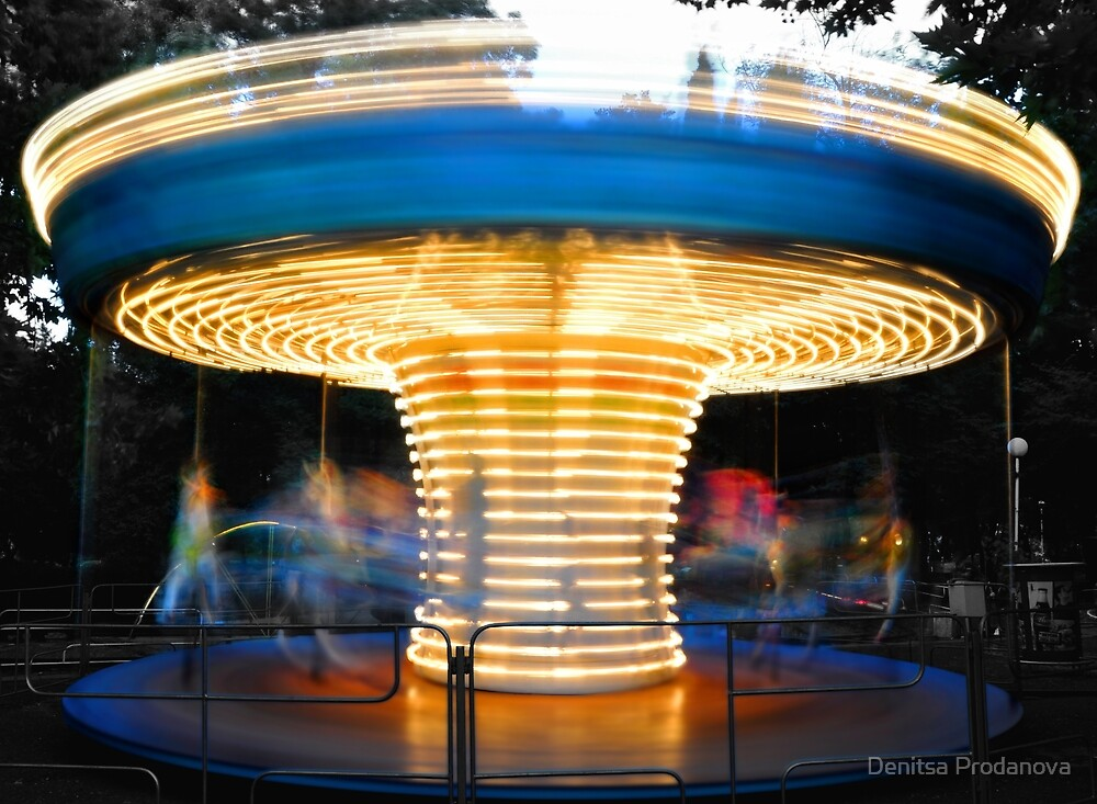 Madly spinning by Denitsa Prodanova