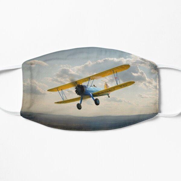 Boeing Stearman in flight Flat Mask