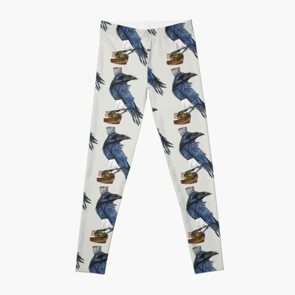 There's a blackbird in the kitchen  Leggings