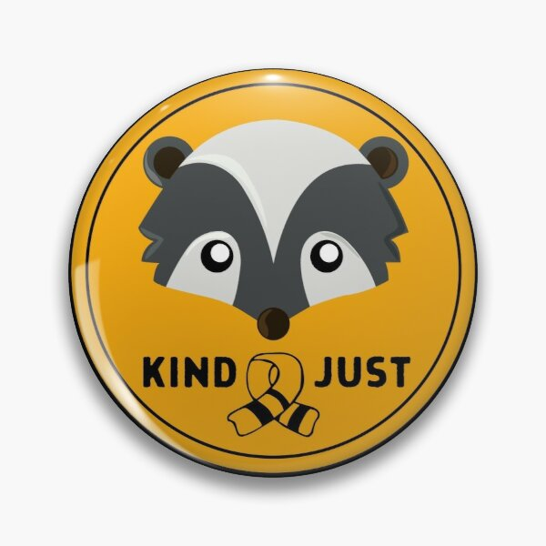Huffle Badger Badge with Scarf Pin