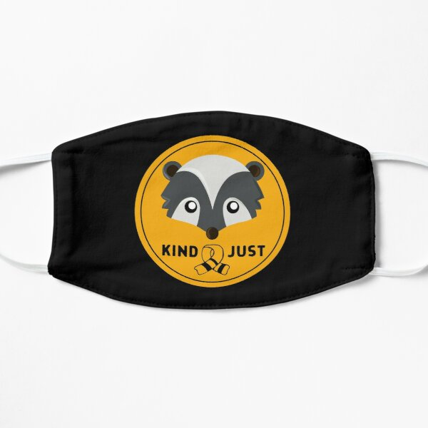 Huffle Badger Badge with Scarf Mask