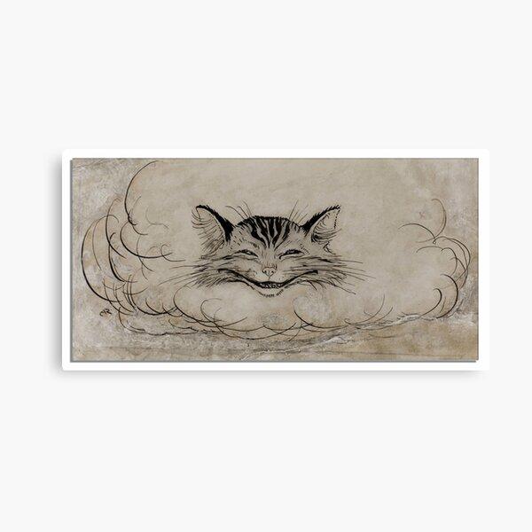 Gato de Cheshire - Alicia en el país de las maravillas - Arthur Rackham Lienzo