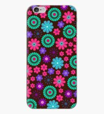 Vibrant Vector Flowers Pattern iPhone-Hülle & Cover