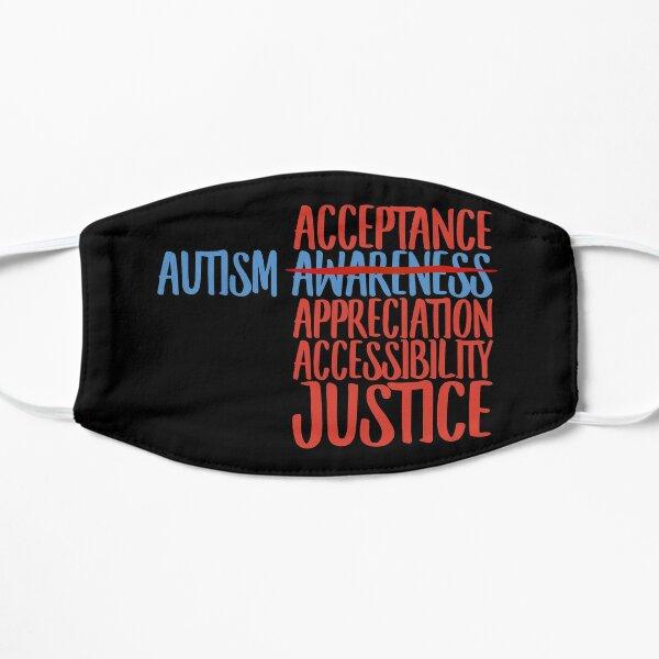 Autism Acceptance  Flat Mask