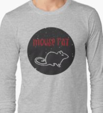 Mouse Rat T-Shirt | Parks and Recreation Leslie Knope Ron Swanson Bert Macklin FBI Parks n Rec Pawnee Indiana TV Show Tshirt Tee uk usa gift Long Sleeve T-Shirt