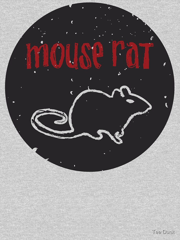 Mouse Rat T-Shirt | Parks and Recreation Leslie Knope Ron Swanson Bert Macklin FBI Parks n Rec Pawnee Indiana TV Show Tshirt Tee uk usa gift by atomickid