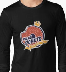 Dilla's Donut Long Sleeve T-Shirt