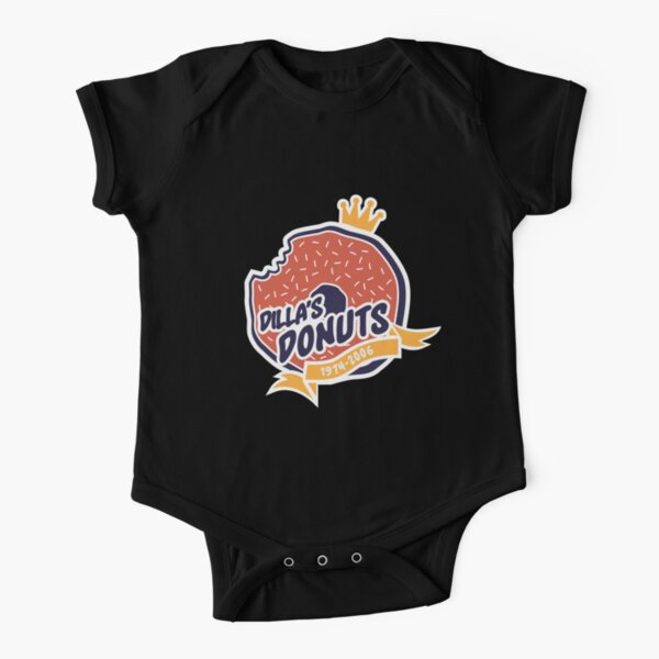 Dilla's Donut Short Sleeve Baby One-Piece