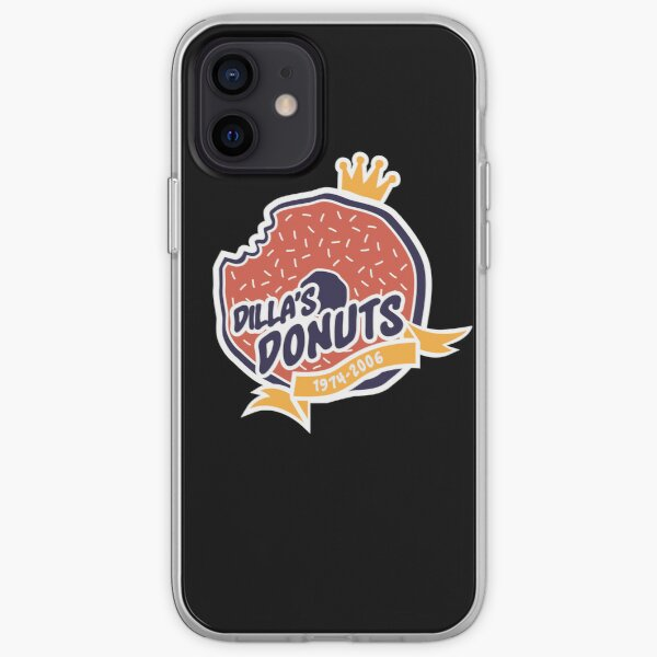 Dilla's Donut iPhone Soft Case
