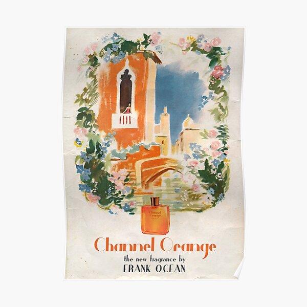 Canal naranja Póster