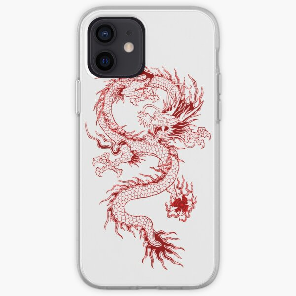 red dragon iPhone Soft Case
