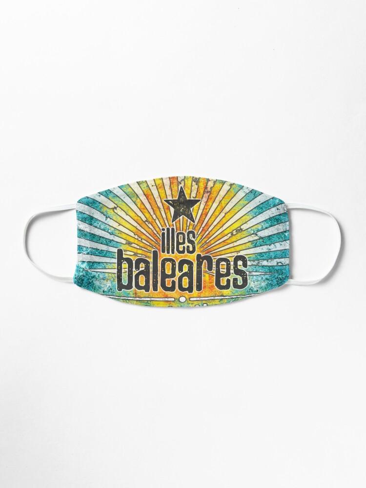Alternative Ansicht von Illes Baleares - islands vintage Maske