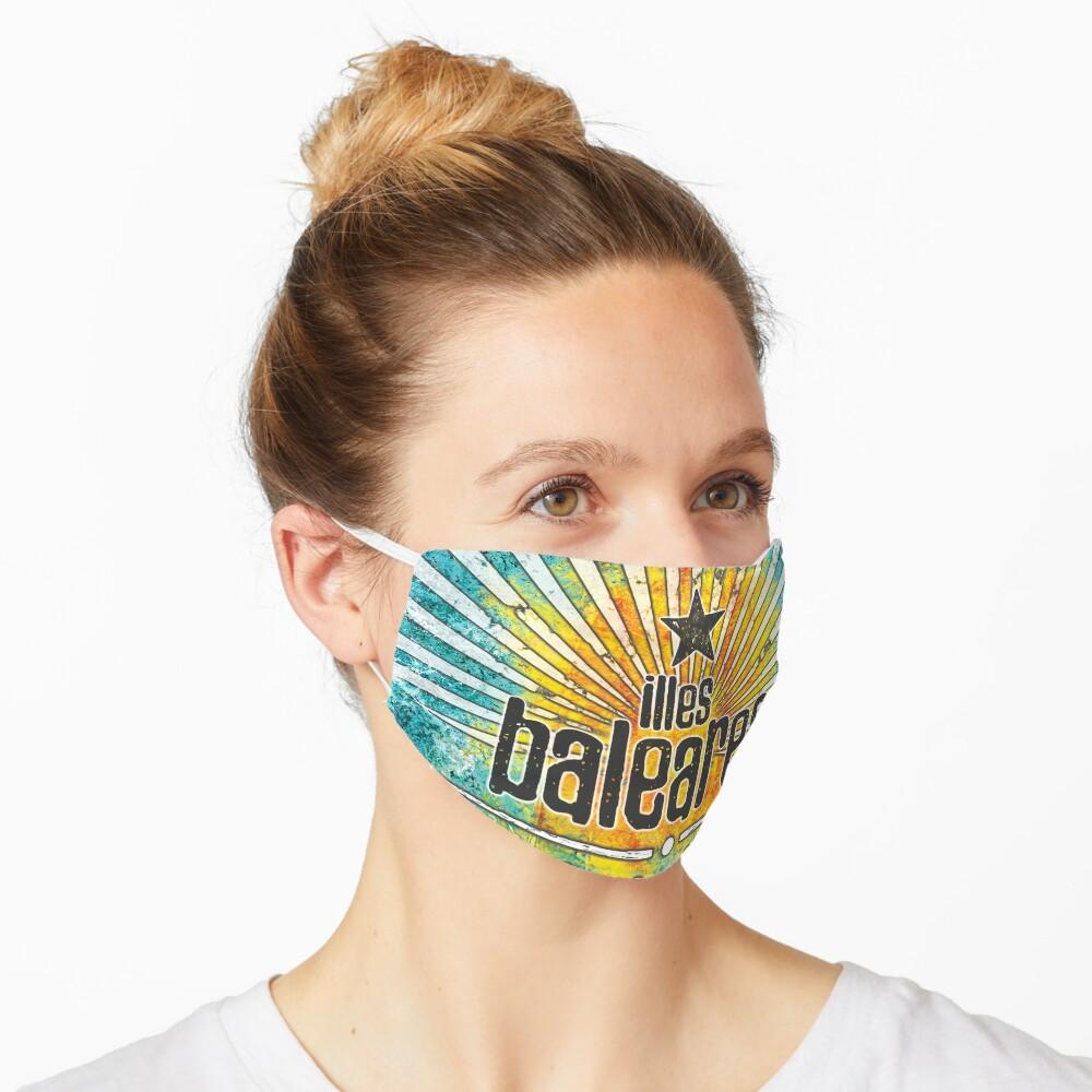 Illes Baleares - islands vintage Maske