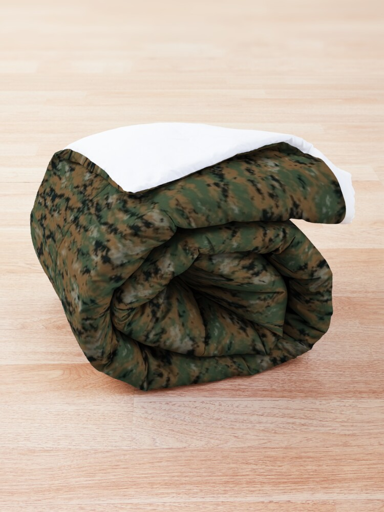 Alternate view of Marpat digital camo  Comforter