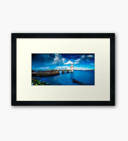 Bradleys Head Lighthouse Framed Print