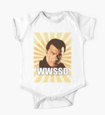 WWSSD T Shirt Baby Body Kurzarm