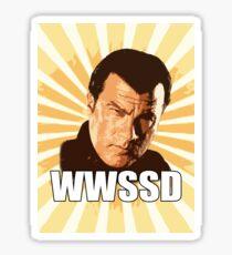 WWSSD T Shirt Sticker