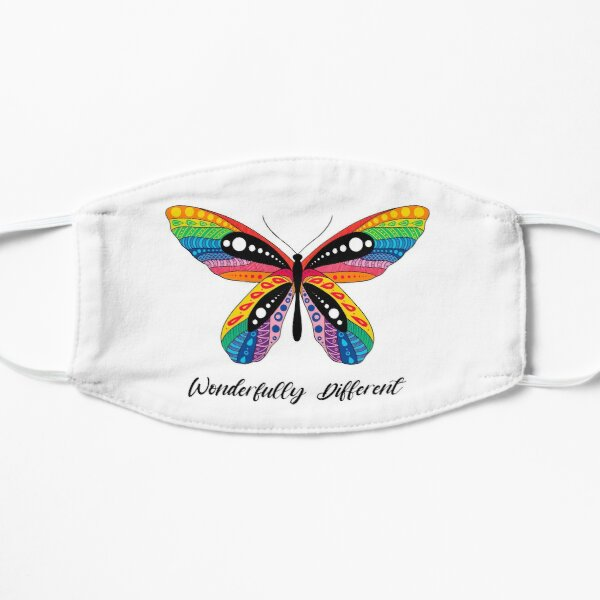 """""""Wonderfully Different"""" Butterfly Mask"""