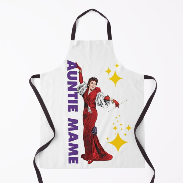 Auntie Mame, Rosalind Russell, glamour, fabulous Apron