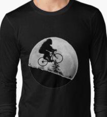 Bigfoot Rides! Long Sleeve T-Shirt