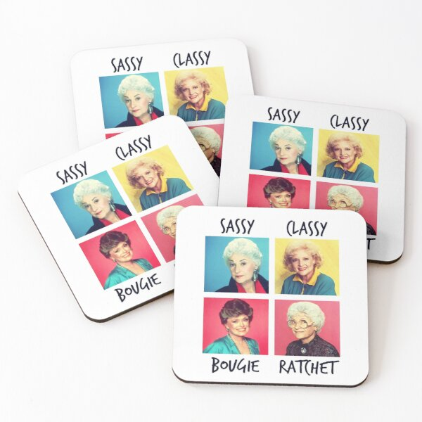 Savage Golden Girls Coasters (Set of 4)