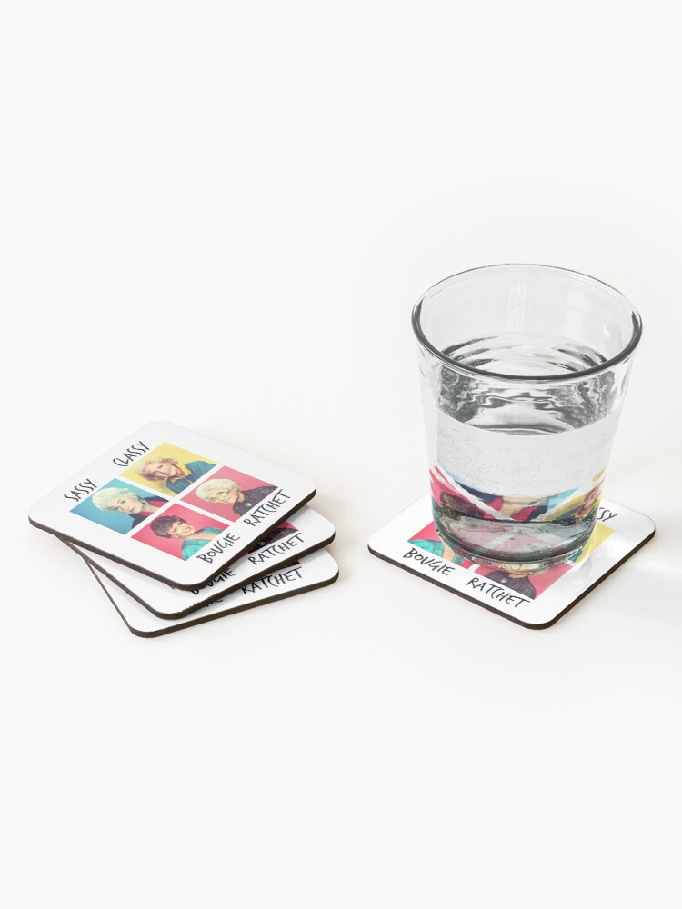 Alternate view of Savage Golden Girls Coasters (Set of 4)