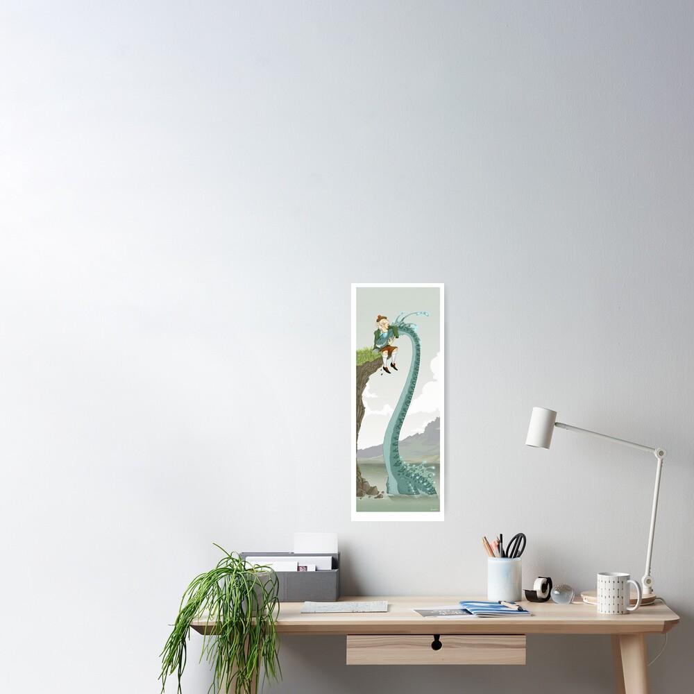 Loch Ness buddies Poster