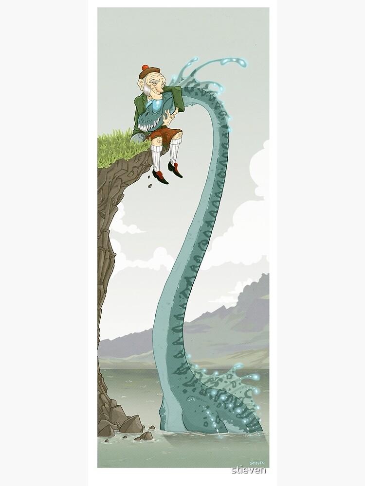 Loch Ness buddies by stieven