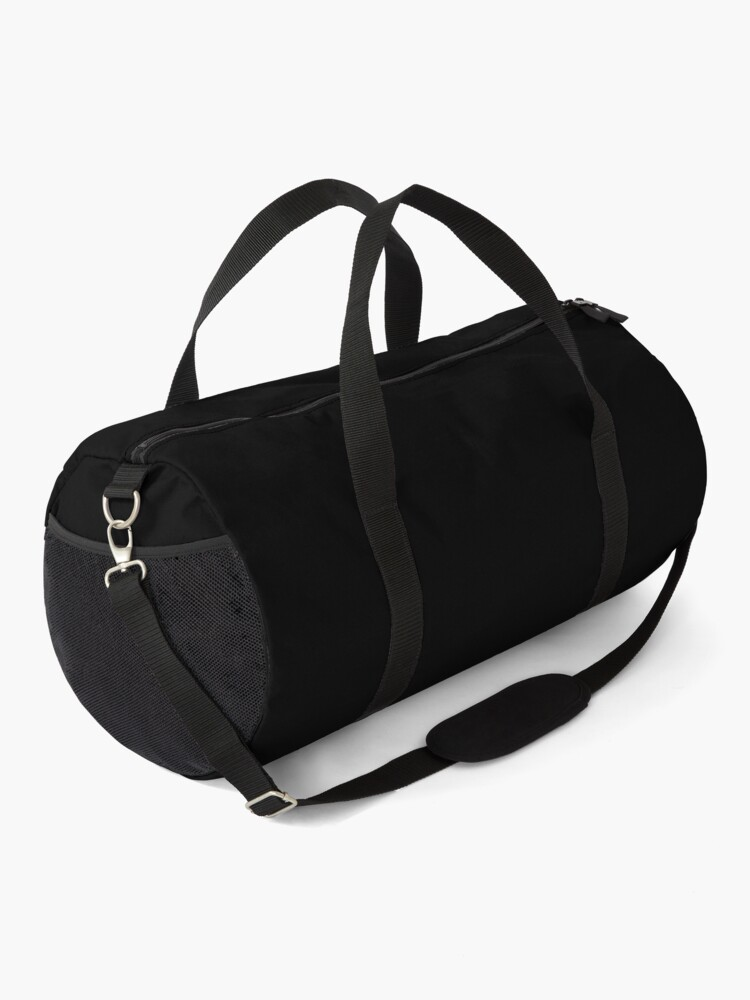 Alternate view of Korfbal netherlands design, Fun Korfball design Duffle Bag