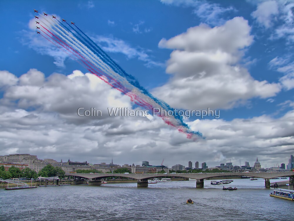 Queens Birthday Flypast 4 - The Reds Over London -  15.06.2013 by Colin  Williams Photography