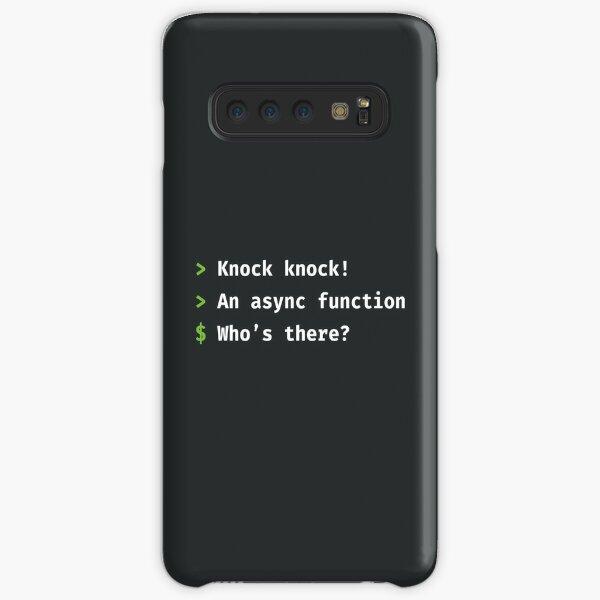Async Knock Knock Samsung Galaxy Snap Case