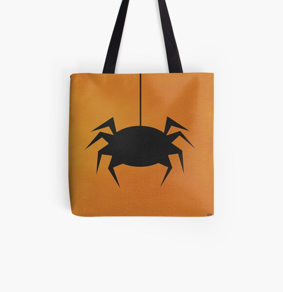 Halloween Spider All Over Print Tote Bag