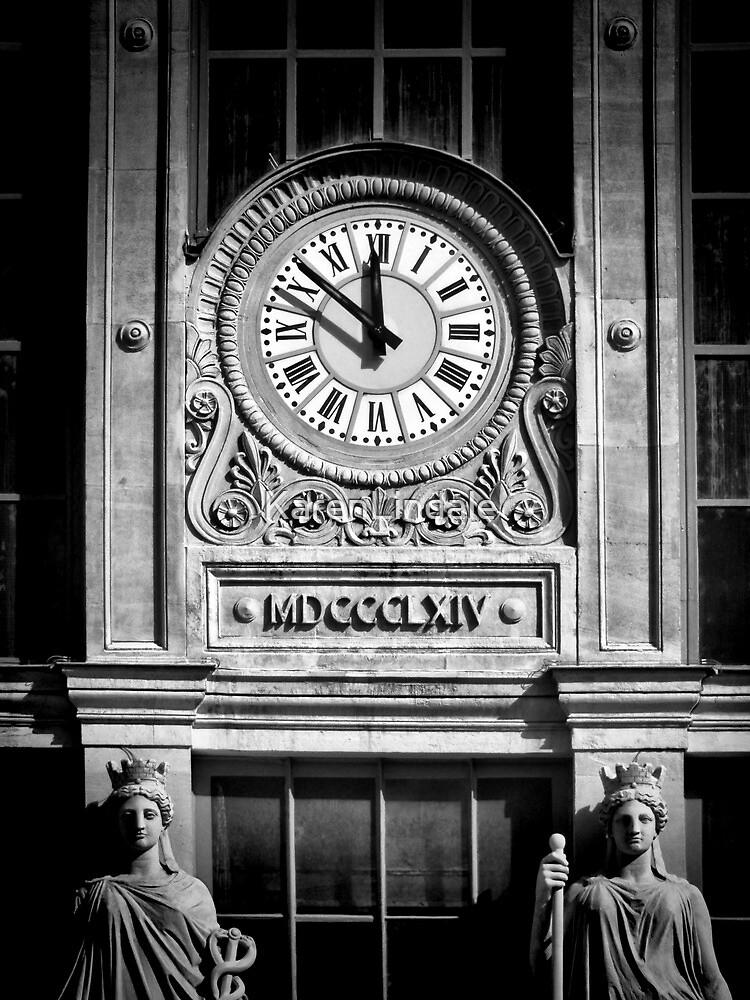 Gare Du Nord Time by KarenLindale