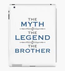 Myth Legend Brother iPad Case/Skin