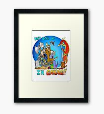 Don't Bother Me I'm Playing Video Games Framed Print