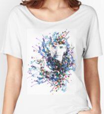 Watercolour Merlin Women's Relaxed Fit T-Shirt