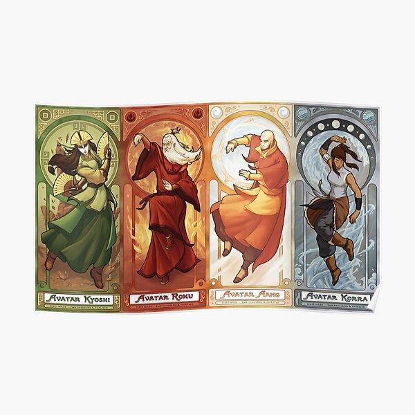Four Avatar Poster