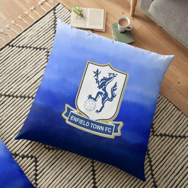 Enfield town football club  Floor Pillow