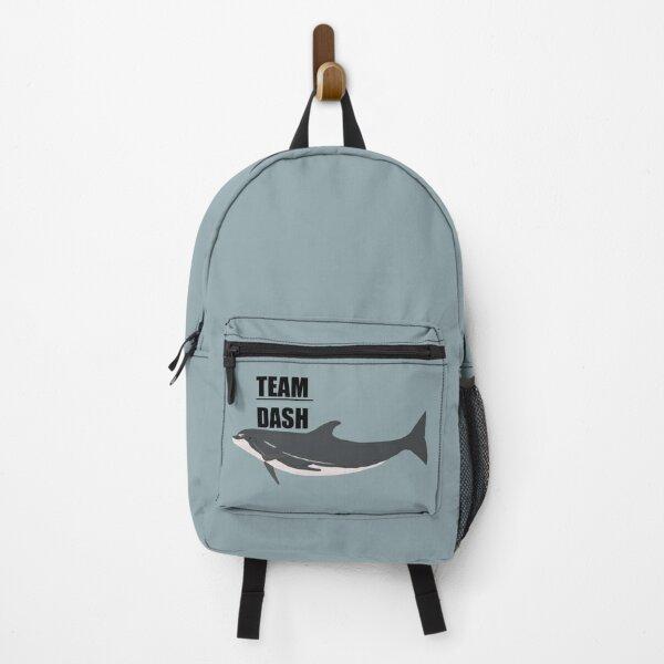 """Team Dash"" the bottlenose dolphin Backpack"