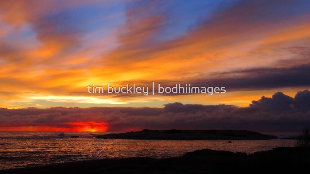 winter sunrise. bicheno, eastcoast, tasmania by tim buckley | bodhiimages