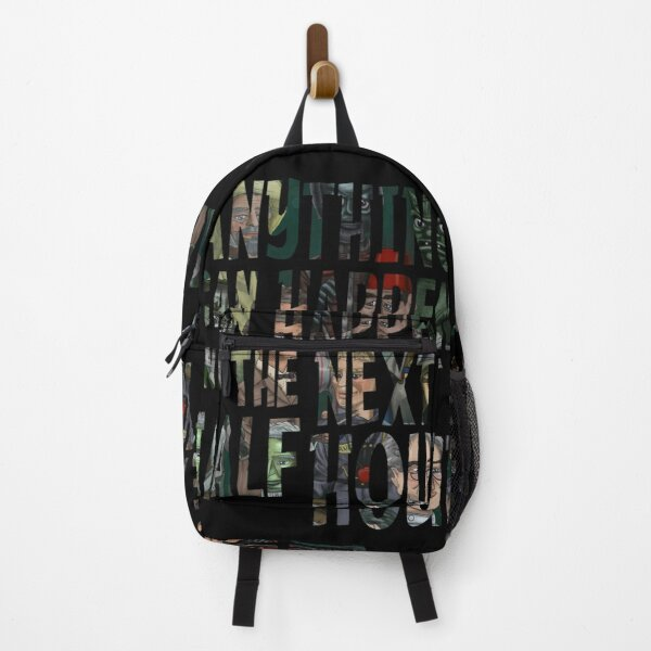 Anything Can Happen In The Next Half Hour Backpack