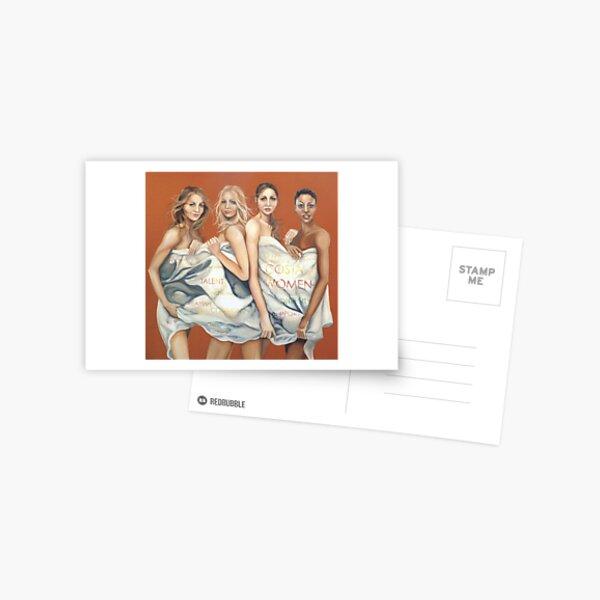 Costa women  Postcard